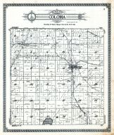 Coloma Township, Waushara County 1924